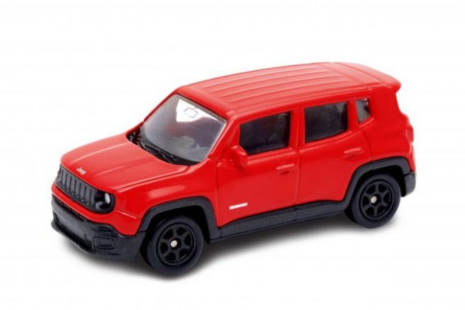 CALIFORNIA MINIS JEEP RENEGADE UNITARIO 1/64