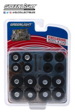 1:64 KINGS OF CRUNCH WHEEL & TIRE PACK