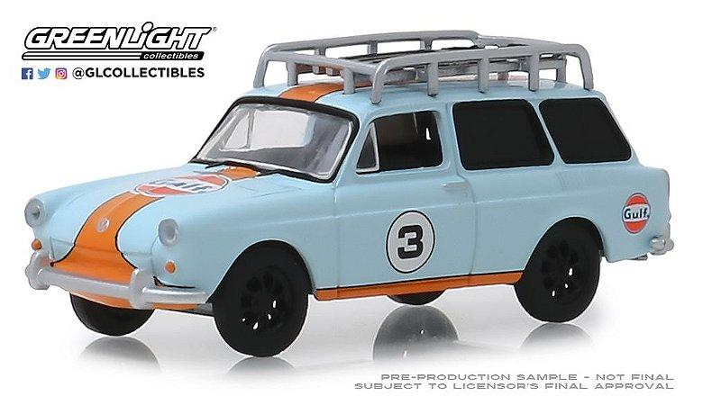 1965 VW TYPE SQUAREBACK GULF VEE-DUB 1/64
