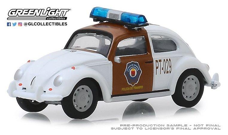 VW FUSCA CHIAPAS MEXICO POLICE VEE-DUB 1/64