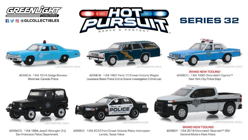 HOT PURSUIT SERIE 32 1/64