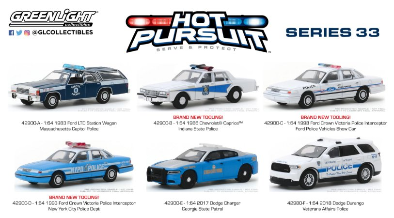 HOT PURSUIT SERIE 33 1/64