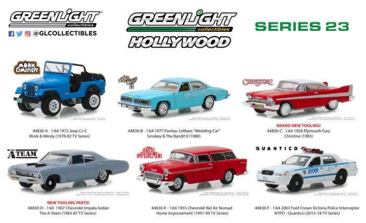 HOLLYWOOD SERIE 23 1/64