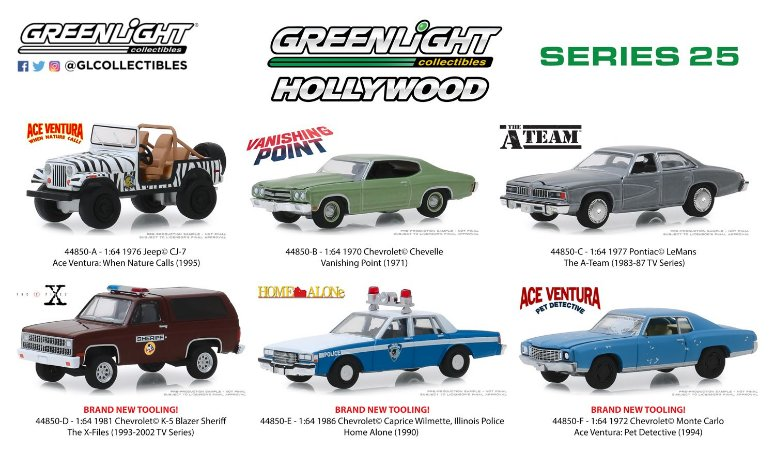 HOLLYWOOD SERIE 25 1/64