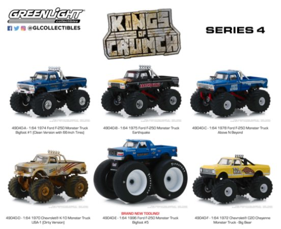 KINGS OF CRUNCH SERIE 4 1/64