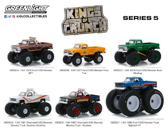 KINGS OF CRUNCH SERIE 5 1/64