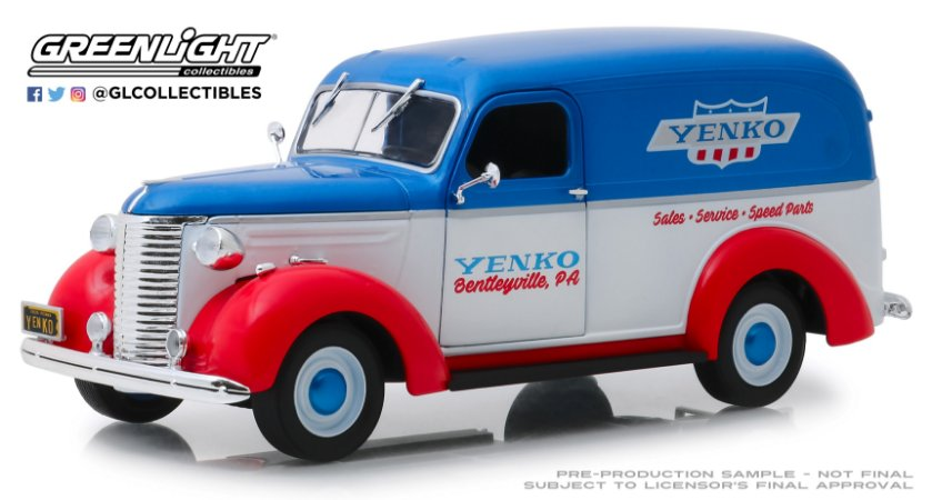 1939 CHEVROLET PANEL TRUCK YENKO SALES AND SERVICE 1/24