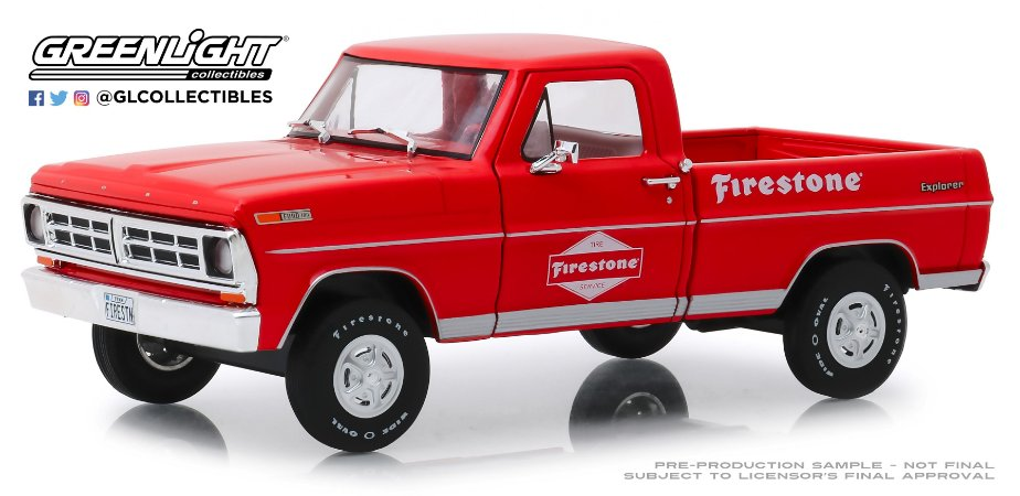 1971 FORD F-100 FIRESTONE TIRE SERVICE RUNNING ON EMPTY 1/24