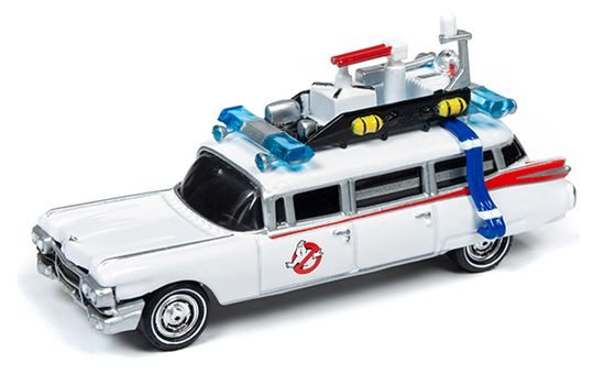 JOHNNY LIGHTNING GHOSTBUSTERS ECTO 1 1/64
