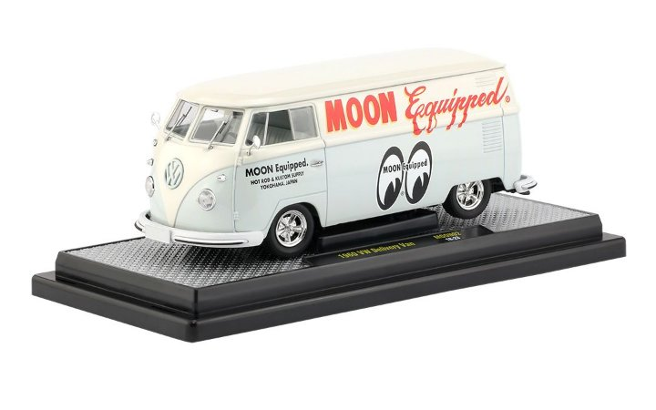 1960 VW DELIVERY VAN M2 MOONEYES 02H-B 1/24