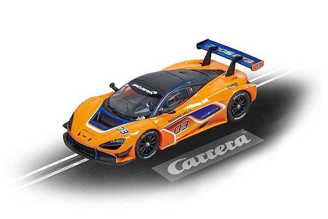 CARRO PARA PISTA ELETRICA MCLAREN 720S GT3 Nº3 1/32