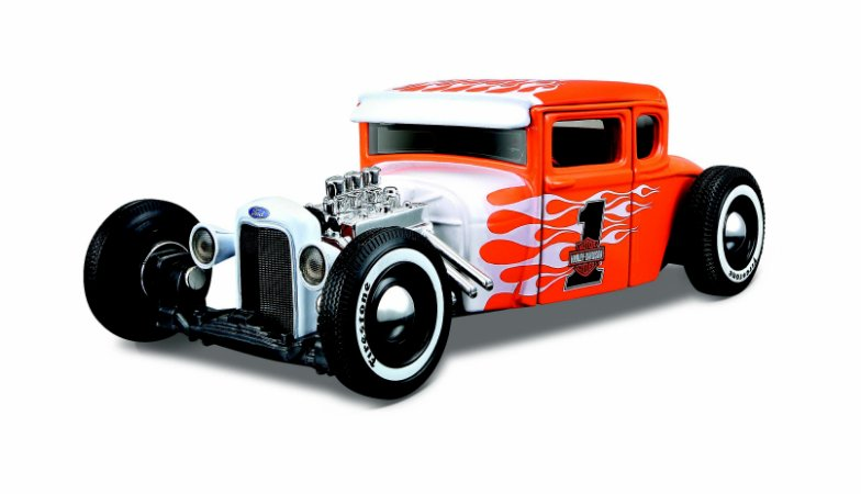 1929 FORD MODEL A HARLEY-DAVISON 1/24