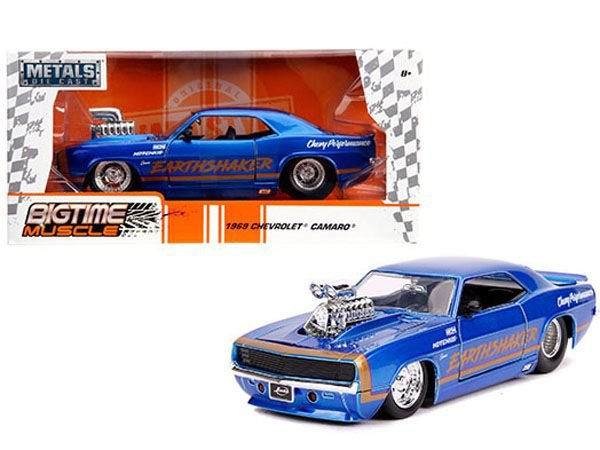 1969 CHEVY CAMARO BIG TIME EARTHSHAKER 1/24
