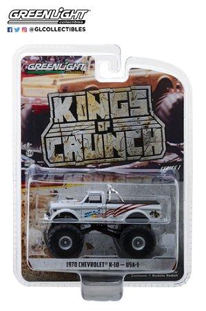 1:64 KINGS OF CRUNCH SERIE 1 1970 CHEVY K-10 MONSTER TRUCK