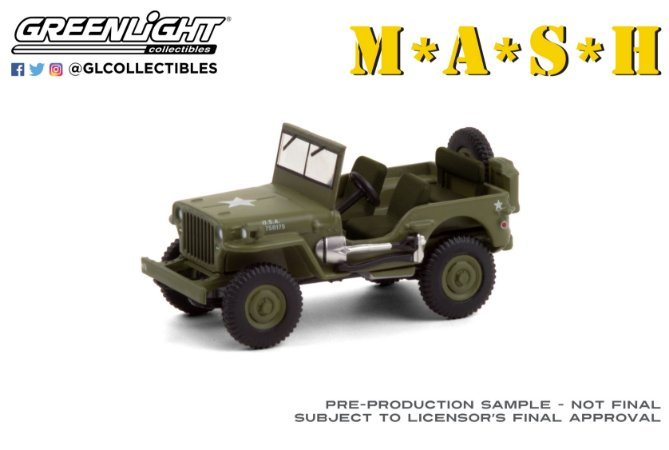 1:64 1942 JEEP WILLYS MB M*A*S*H HOLLYWOOD SERIE 30