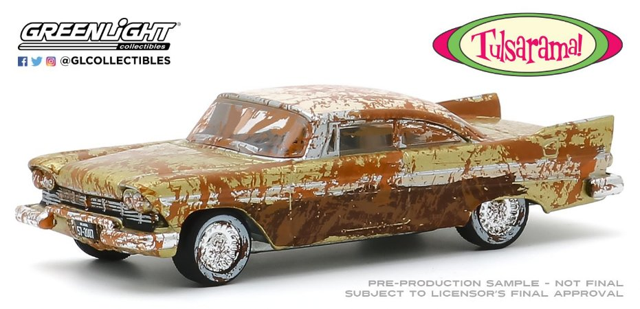 1:64 1957 PLYMOUTH BELVEDERE DESERT GOLD AND SAND TULSARAMA 2007