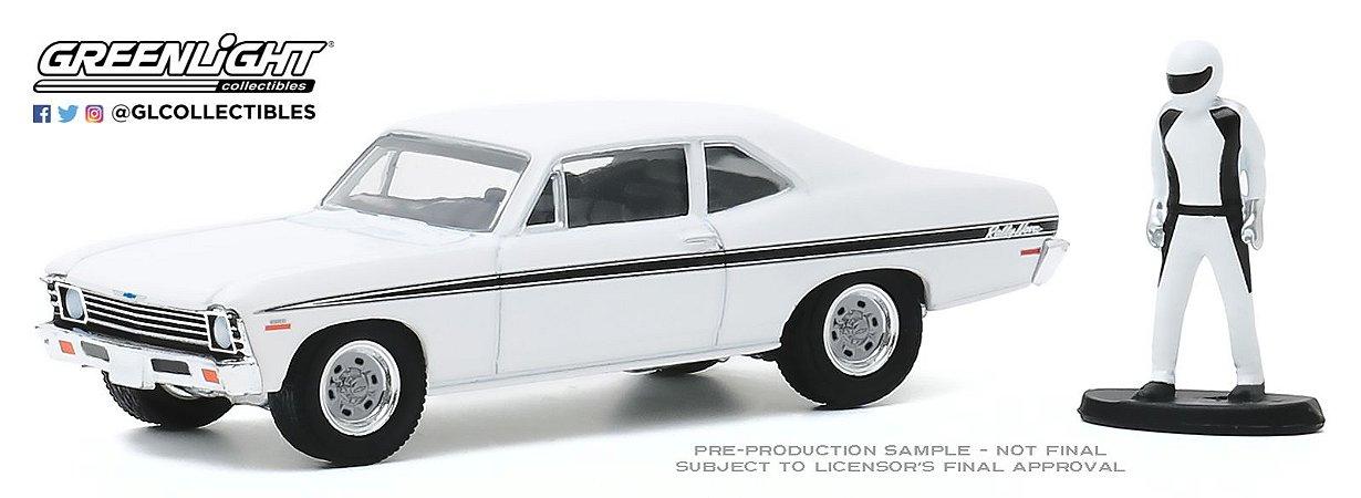 1:64 THE HOBBY SHOP SERIE 9 1972 CHEVROLET RALLY NOVA RACE CAR
