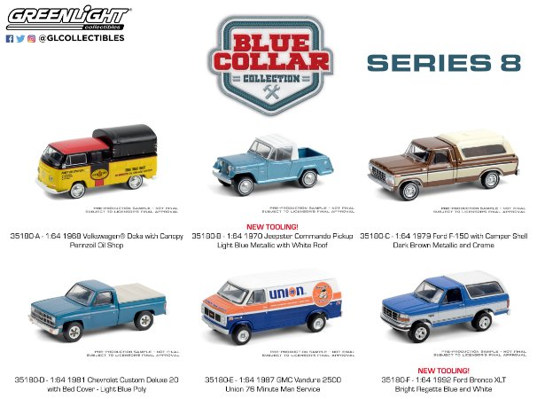 1:64 BLUE COLLAR COLLECTION SERIE 8