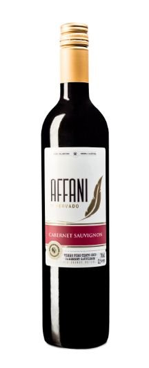 Vinho Affani Fino Tinto Seco Cabernet Sauvignon 750ml