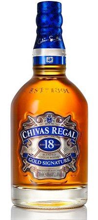Whisky Chivas 18 anos 750ml