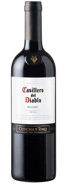 Vinho Casillero Del Diablo Malbec 750ml