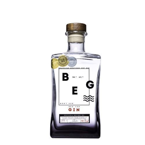Gin Dry BEG Boutique Brazilian 750ml