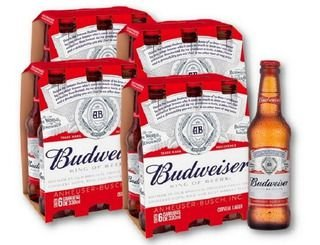 Cerveja Budwaiser LongNeck CX24UND 330ml