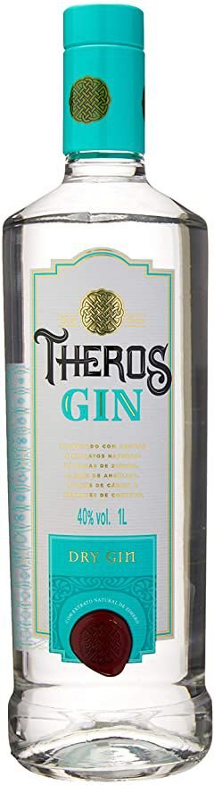Gin Dry Theros 750ml