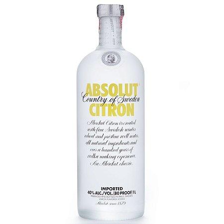 Vodka Absolut Citron 1L