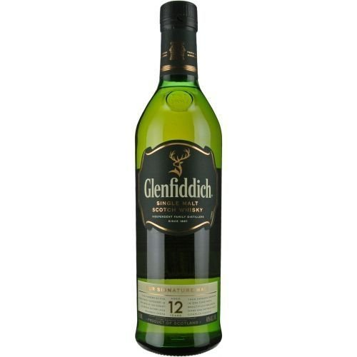 Whisky Glenfiddich Single Malt 12 Anos 750ml