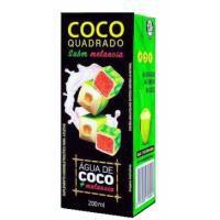 ÁGUA DE COCO COCO QUADRADO MELANCIA 27X200ML