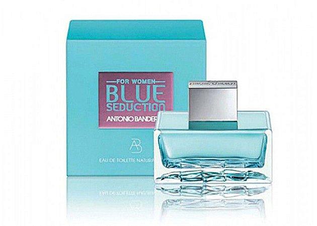4aab563c50 Perfume Feminino · Perfume Masculino. Antonio Banderas Blue Seduction For  Women - 200ml
