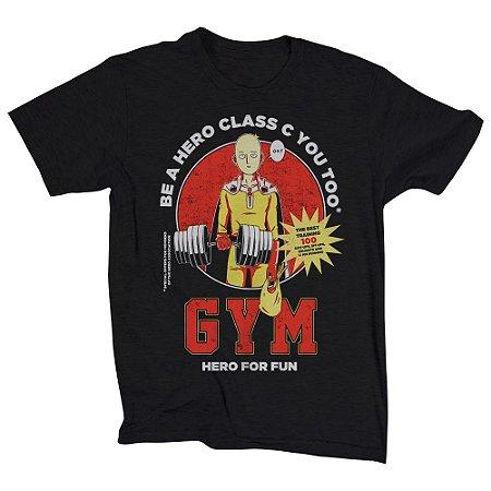Camiseta Unissex Saitama Gym