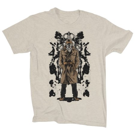 Camiseta Unissex Rorshach