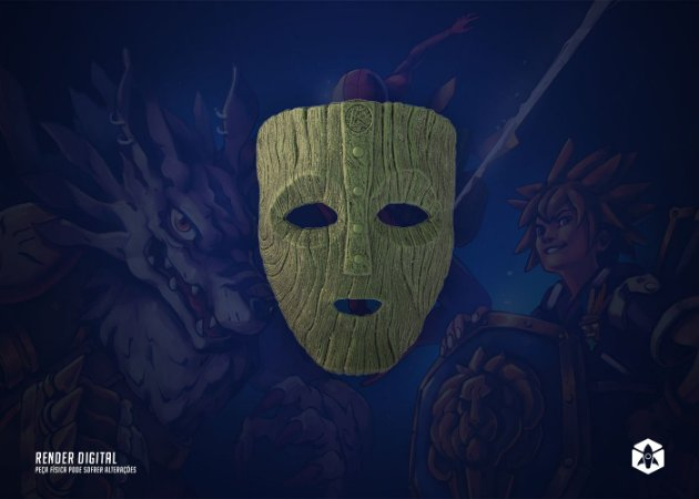 Colecionável Máscara Loki - O Máscara