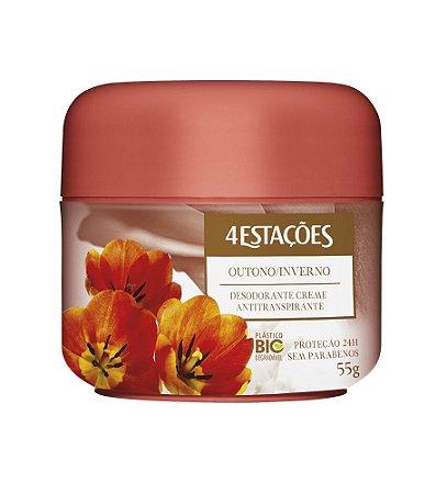 Desodorante Creme Pote 4 Estações Outono/Inverno 55g