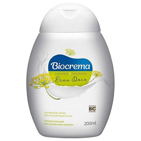 Sabonete líquido Biocrema Erva Doce 200ml