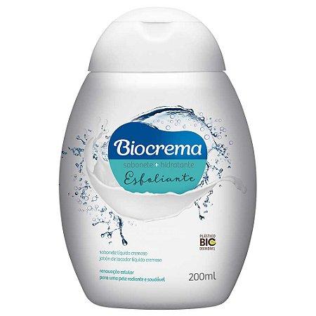 Sabonete líquido Biocrema Esfoliante 200ml