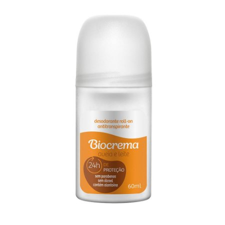 Desodorante Roll-on Biocrema Aveia e Leite 60ml