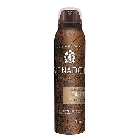 Desodorante Aerossol Senador Country 150ml