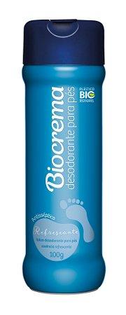 Desodorante para Pés Biocrema Refrescante 100g