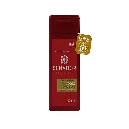 Shampoo 2 em 1 Senador Classic 200ml