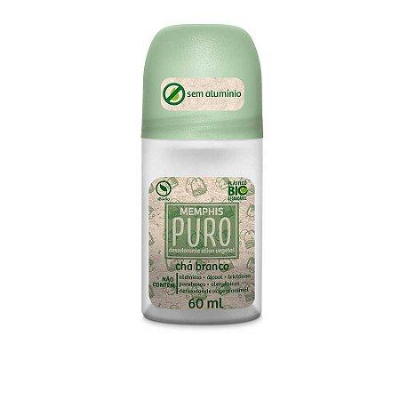 Desodorante Roll On Puro Sem Alumínio Chá Branco