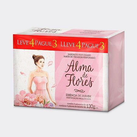 Sabonete Alma de Flores Jasmim Leve 4 Pague 3