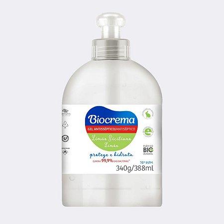 Gel Higienizador de Mãos Biocrema 340g