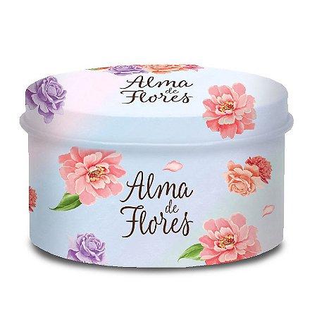 Lata Alma de Flores 4 Sabonetes
