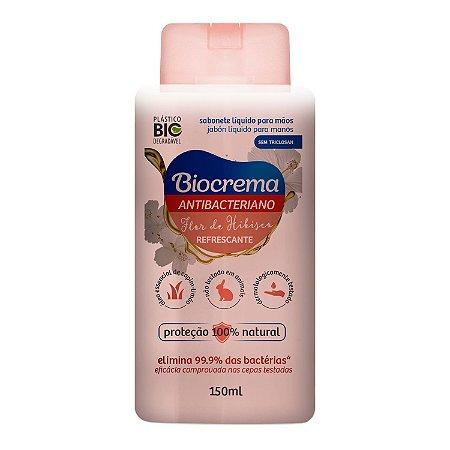 Sabonete Líquido Antibacteriano Biocrema Flor de Hibisco