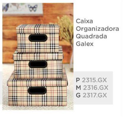 Caixa Organizadora Galex Dello