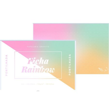 Ficha Rainbow 4x6 100 unidades