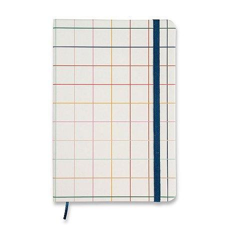 Caderneta Cicero Esquema Sem Pauta 14x21 Quadriculado